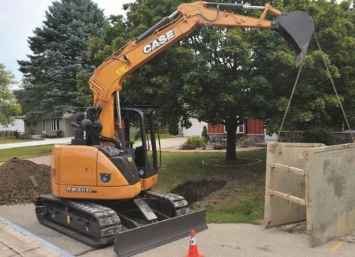 Case CX75C SR Short Tail Excavator