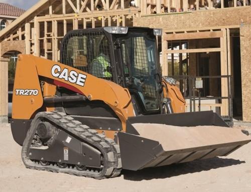 Case TR270 compact track loader