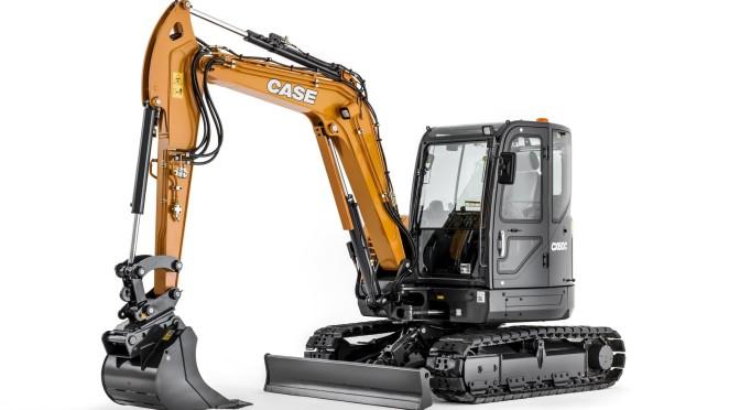 Case CX60C digger excavator