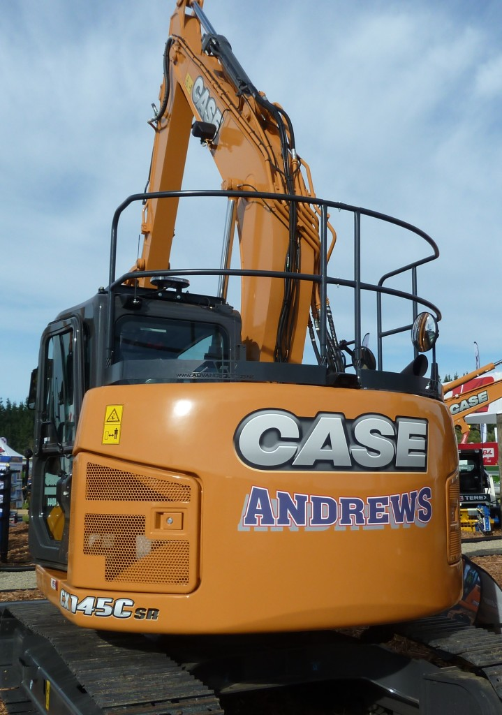 Andrews Transport CX145CSR Short Radius Excavator