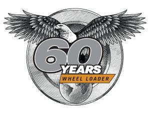 60yr Case Loader Anniversary logo