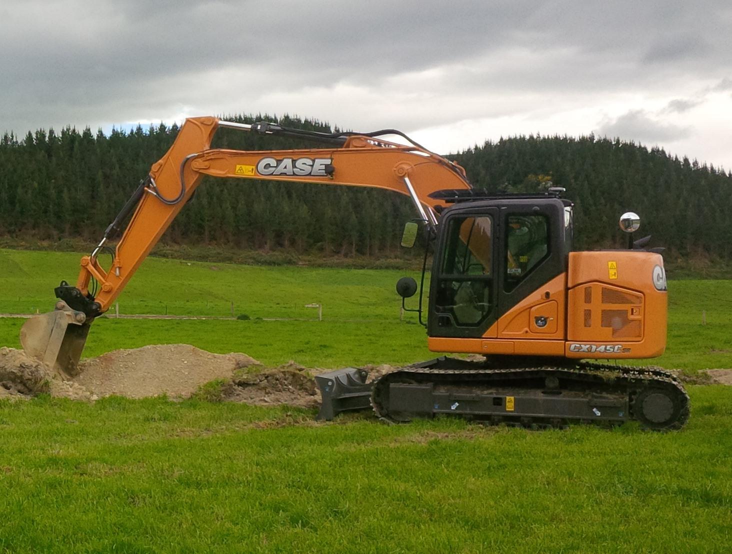 Case CX145CSR Excavator