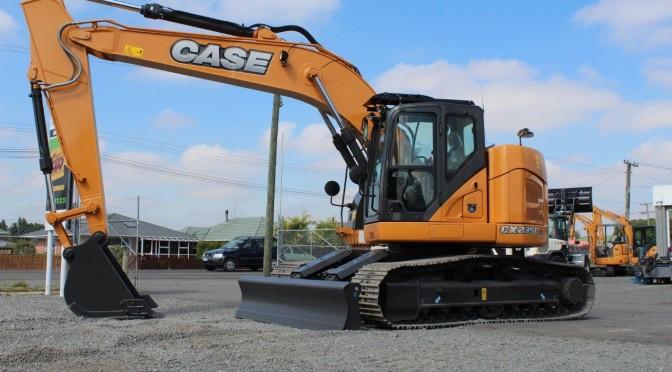 Case CX235CSR Short Radius Excavator