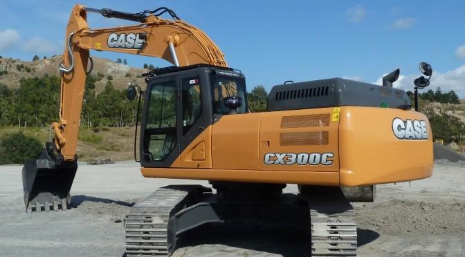 Case CX300C Excavator