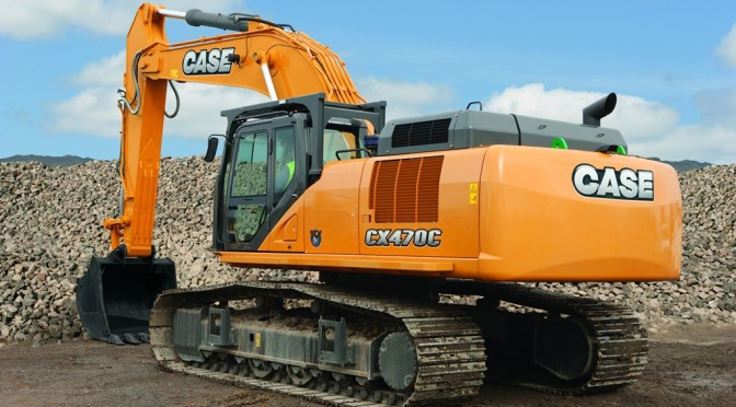 Case CX470C Excavator