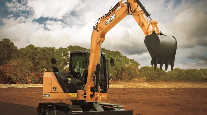 Case CX80C Excavator