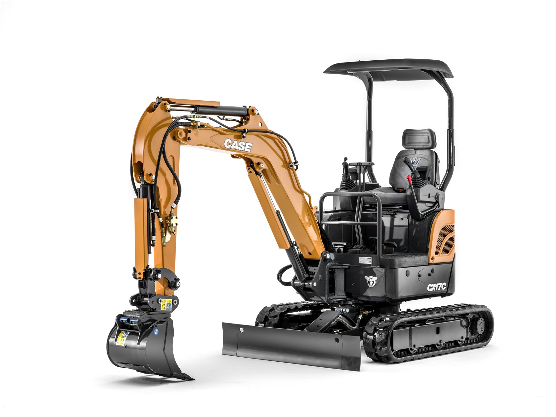 Case CX17C digger excavator