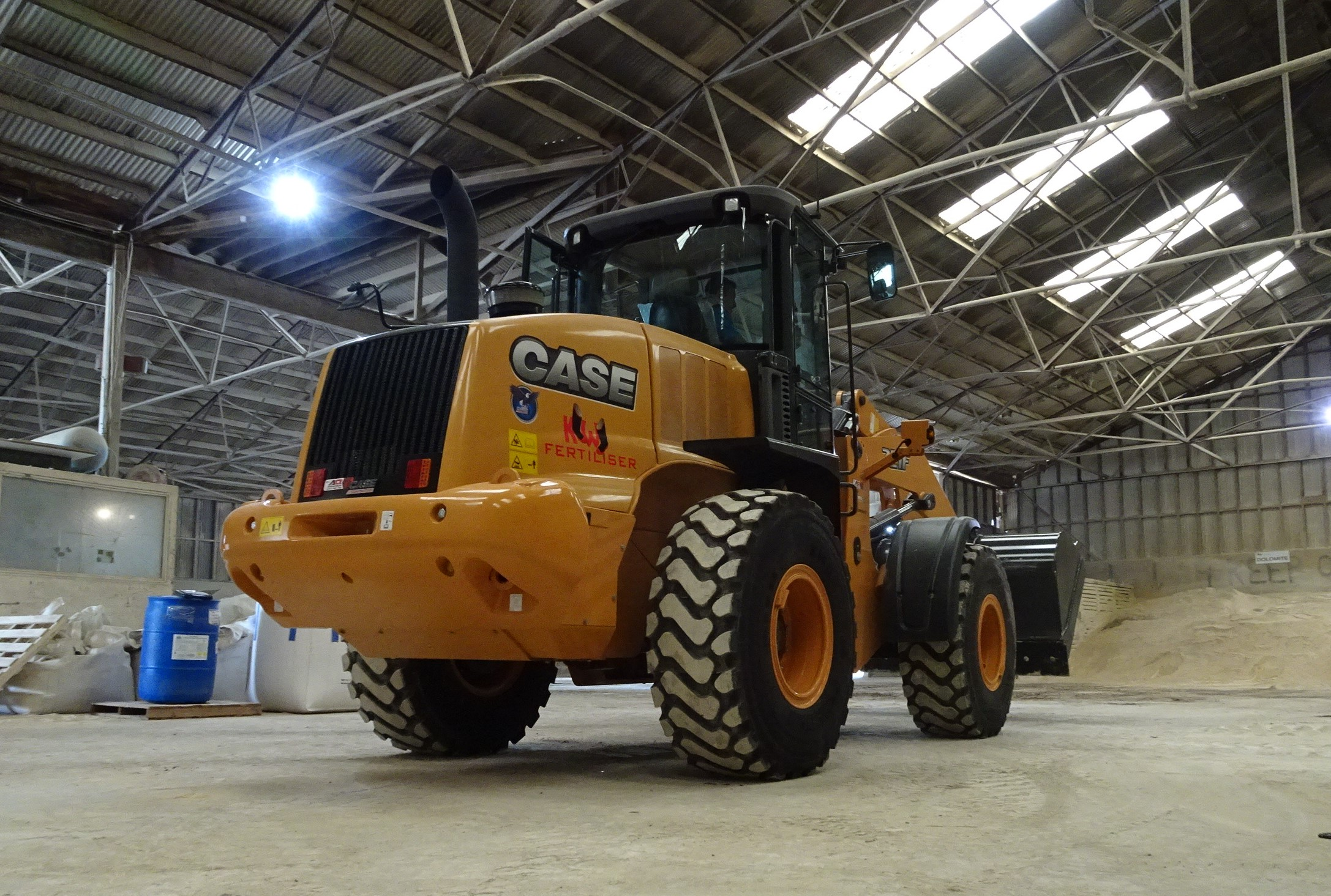 Kiwi Fertiliser Case 721F Wheel Loader